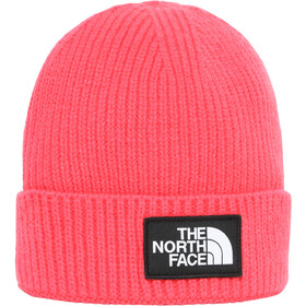 The North Face Box Logo Cuff Beanie Youth paradise pink